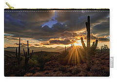 Monsoon Sunburst Carry-all Pouch by Anthony Citro