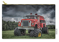 Carry-all Pouch featuring the photograph Monster Fire Truck by Guy Whiteley