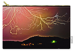 Monster Lightning By Michael Tidwell Carry-all Pouch