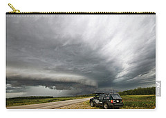 Monster Storm Near Yorkton Sk Carry-all Pouch
