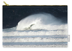 Carry-all Pouch featuring the photograph Monster Wave by Nicholas Burningham