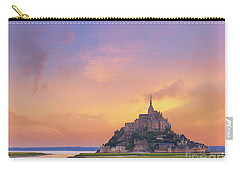 Mont-saint-michel At Dawn Carry-all Pouch