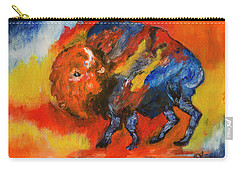 Montana Bison Carry-all Pouch
