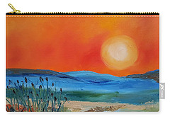 Montana Firery Sunset             49 Carry-all Pouch