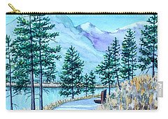 Montana Lake Como With Bench Carry-all Pouch