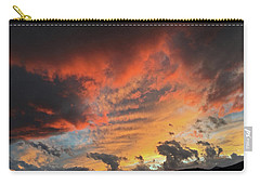 Montana October Sunset Carry-all Pouch