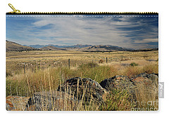 Montana Route 200 Carry-all Pouch by Cindy Murphy - NightVisions