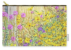 Carry-all Pouch featuring the photograph Montana's Summer Flowers by Jennie Marie Schell