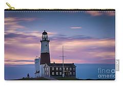Montauk Lighthousepastel  Sunrise Carry-all Pouch