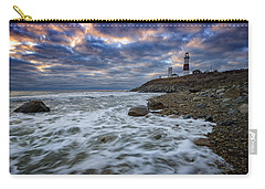 Montauk Morning Carry-all Pouch by Rick Berk