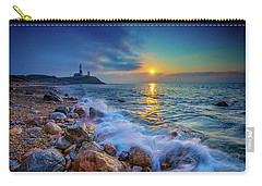 Montauk Sunrise Carry-all Pouch by Rick Berk