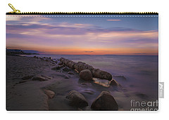 Montauk Sunset Boulders Carry-all Pouch