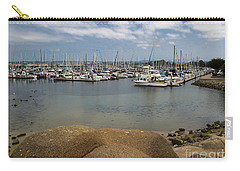 Monterey Harbor Carry-all Pouch by Suzanne Luft