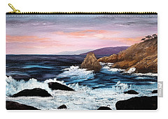 Monterey Sunrise Carry-all Pouch by Laura Iverson