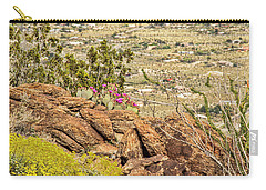 Montezuma Rd Cliff Side Flower Garden Carry-all Pouch