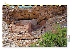 Montezuma's Castle Carry-all Pouch by Arthur Dodd