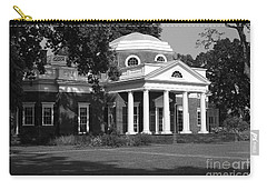 Carry-all Pouch featuring the photograph Monticello IIi by Eric Liller