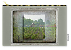 Carry-all Pouch featuring the photograph Montinore Winery by Jeffrey Jensen