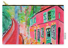 Montmartre Cafe In Paris Carry-all Pouch
