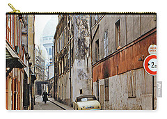 Carry-all Pouch featuring the photograph Montmartre - Titled by Chuck Staley