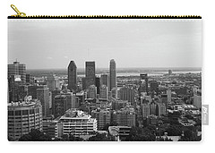 Montreal Cityscape Bw Carry-all Pouch