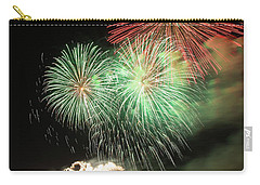 Montreal-fireworks Carry-all Pouch by Mircea Costina Photography