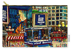 Montreal International Jazz Festival Carry-all Pouch