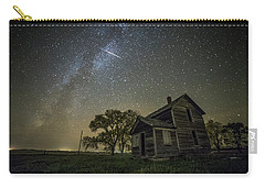 Carry-all Pouch featuring the photograph Montrose Orionid by Aaron J Groen
