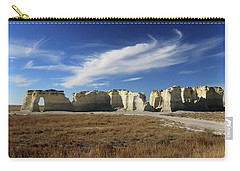 Monument Rock Afternoon  Carry-all Pouch by Christopher McKenzie