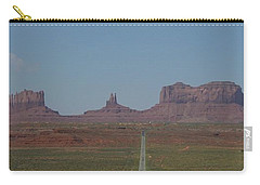 Monument Valley Navajo Tribal Park Carry-all Pouch by Christopher Kirby