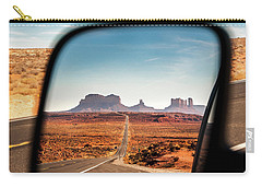 Monument Valley Rearview Mirror Carry-all Pouch