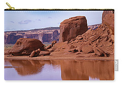 Monument Valley Reflection Carry-all Pouch