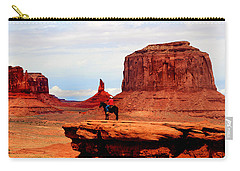 Monument Valley Carry-all Pouch by Tom Prendergast