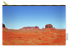 Monument Valley Two Carry-all Pouch by Paul Mashburn