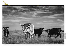 Moo Carry-all Pouch by Karen Slagle