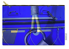 Carry-all Pouch featuring the photograph Mood Blue by Wayne Sherriff