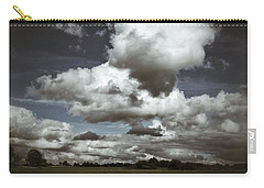 Moodiness In The Clouds Carry-all Pouch by Karen Stahlros