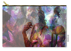 Moods In Abstract Pastel Carry-all Pouch