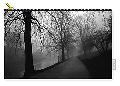 Moody And Misty Morning Carry-all Pouch by Inge Riis McDonald