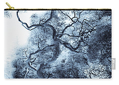Moody Blue Carry-all Pouch by Colleen Kammerer