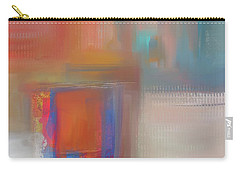 Carry-all Pouch featuring the mixed media Moody Blues by Eduardo Tavares