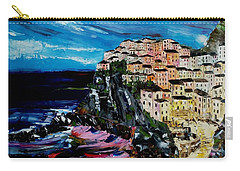 Moody Dusk In Italy Carry-all Pouch