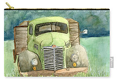 Moody Green Carry-all Pouch