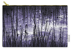 Carry-all Pouch featuring the photograph Moody Mud by Laura Ragland