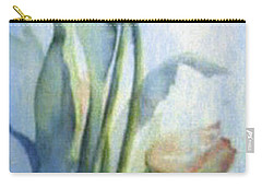 Carry-all Pouch featuring the painting Moody Tulips by Hanne Lore Koehler