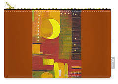 Moon Abstract 32817 Carry-all Pouch