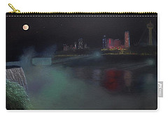 Moon At Niagara  Carry-all Pouch