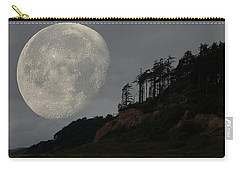 Moon At Roosevelt Beach Wa Carry-all Pouch