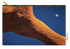Carry-all Pouch featuring the photograph Moon Dance by Edgars Erglis