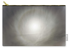 Carry-all Pouch featuring the photograph Moon Dog by Leland D Howard